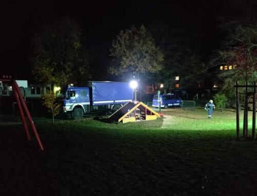 2018-11-08 | Beleuchtungseinsatz im Schützenpark
